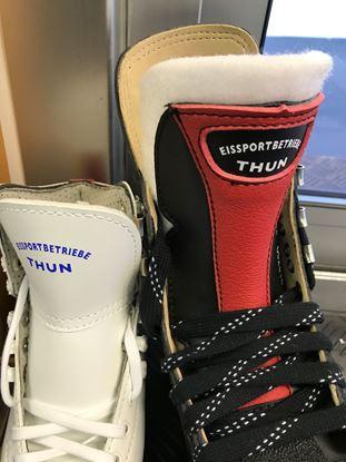 Bild von Gutschein Schlittschuheschleifen pro Paar, Eisbahn